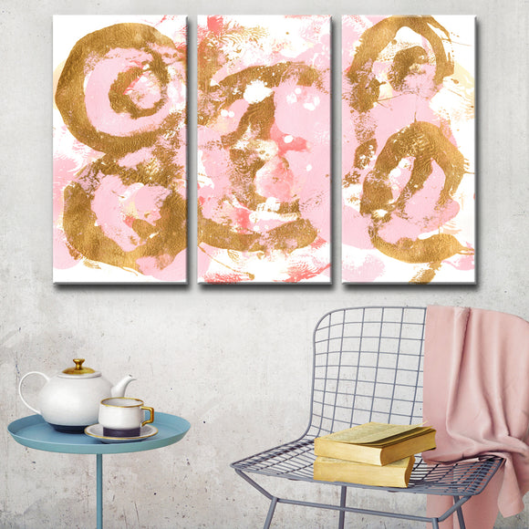 Ready2HangArt 'Pirouette' Wrapped Canvas Art Set by Coretta King Johnson