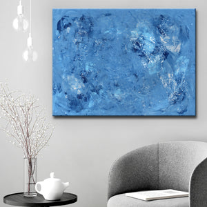 Ready2HangArt 'Azure' Canvas Wall Décor by Coretta King Johnson