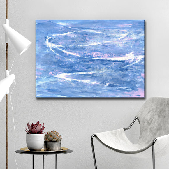 Ready2HangArt 'Blue Mist' Canvas Wall Décor by Coretta King Johnson