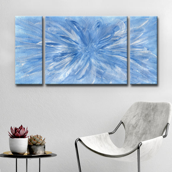 Ready2HangArt 'Snowflake' Wrapped Canvas Art Set by Coretta King Johnson