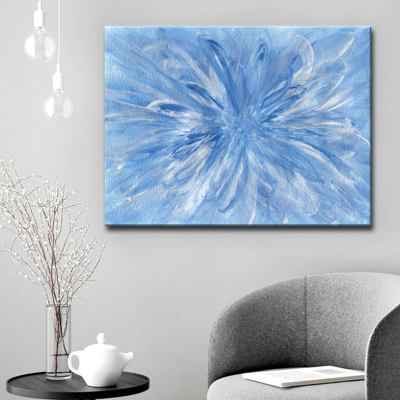 Ready2HangArt 'Snowflake' Canvas Wall Décor by Coretta King Johnson