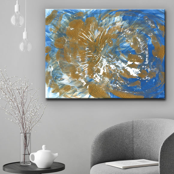 Ready2HangArt 'Mystic Breeze' Canvas Wall Décor by Coretta King Johnson
