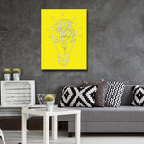 Ready2HangArt 'Choose Light' by Ink Letter Love Canvas Art