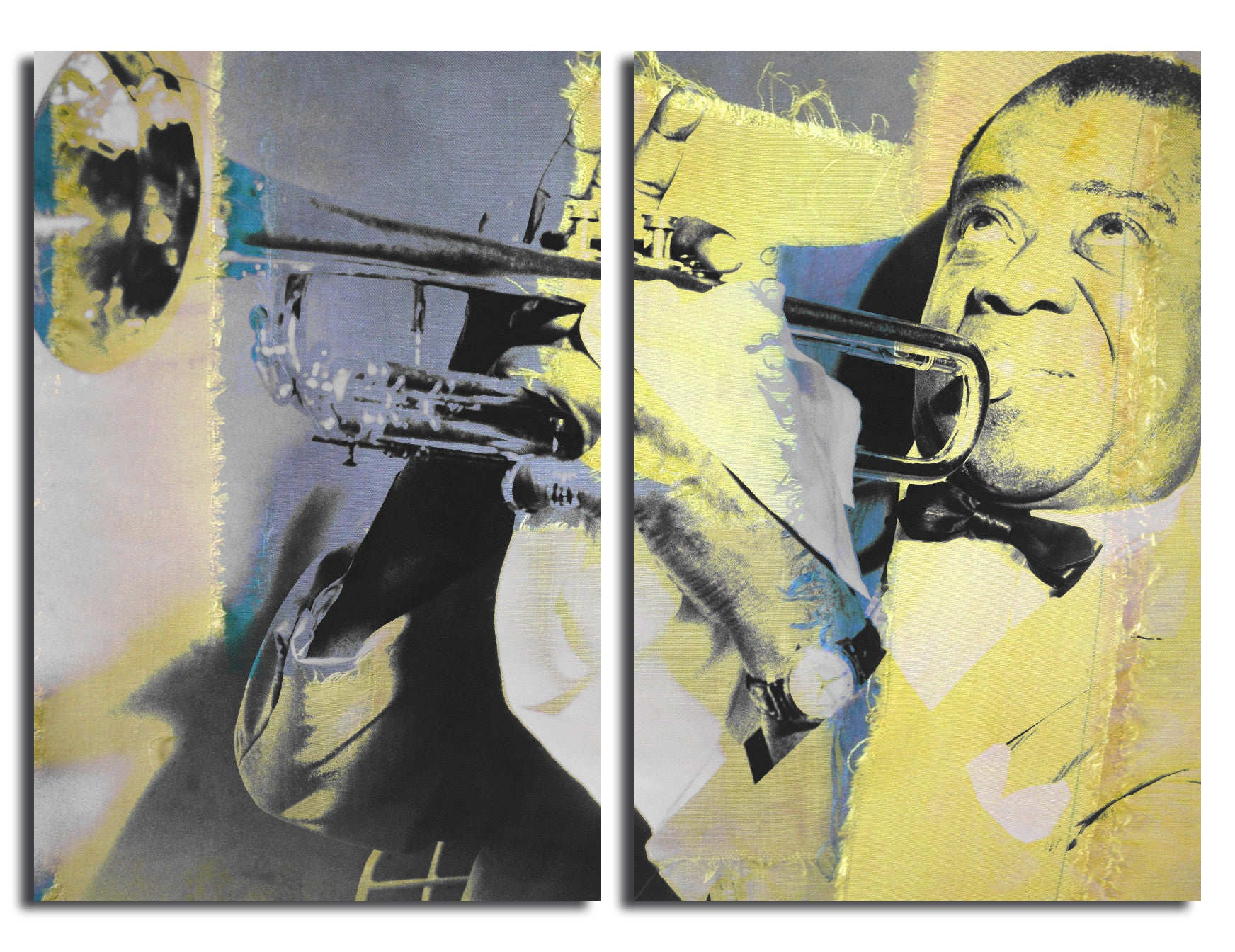 Ready2HangArt \'The Color of Jazz XVI\' Oversized 2-PC Canvas Wall Art