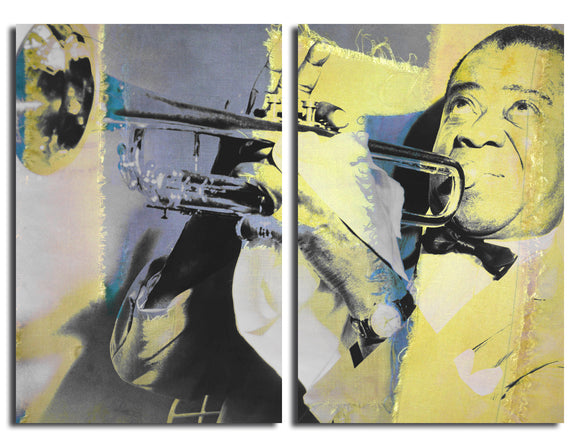 Ready2HangArt 'The Color of Jazz XVI' Oversized 2-PC Canvas Wall Art