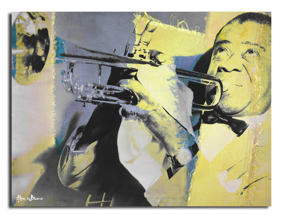 Ready2HangArt 'The Color of Jazz XVI' Oversized Canvas Wall Art