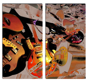 Ready2HangArt 'The Color of Jazz XX' Oversized 2-PC Canvas Wall Art