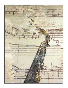 Ready2HangArt 'The Color of Jazz IV' Oversized Canvas Wall Art