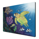 Ready2hangart David Dunleavy 'Boxfish Reef' Canvas Wall Art