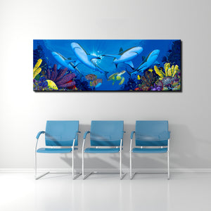 David Dunleavy 'Creature Feature' Canvas Wall Art
