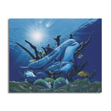 David Dunleavy 'Day Dreaming' Canvas Wall Art