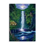 David Dunleavy 'In the Falls of Light' Canvas Wall Art