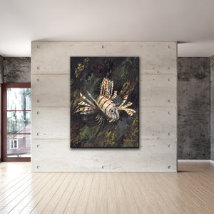 David Dunleavy 'Lionfish' Canvas Wall Art