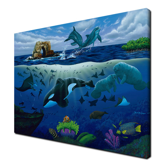 Ready2hangart David Dunleavy 'Oceans for Youth' Canvas Wall Art