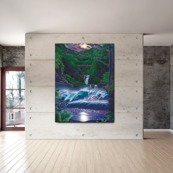 David Dunleavy 'Passage to Paradise' Canvas Wall Art