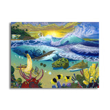 David Dunleavy 'Rincon' Canvas Wall Art