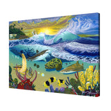 David Dunleavy 'Rincon Signature' Canvas Wall Art