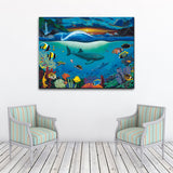 David Dunleavy 'Sea Dreams' Canvas Wall Art