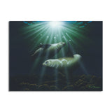 David Dunleavy 'Through the Light' Canvas Wall Art