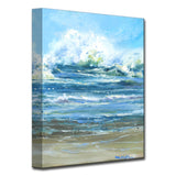 'Crashing Wave' Ready2HangArt Canvas by Dana McMillan