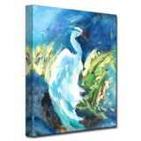 'Heron in Color' Ready2HangArt Canvas by Dana McMillan