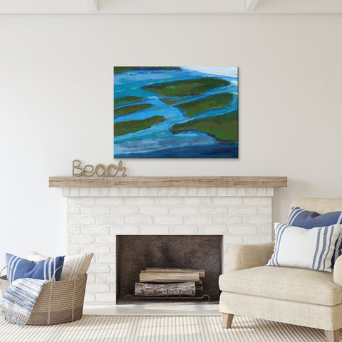 'Land Mass' Ready2HangArt Canvas by Dana McMillan
