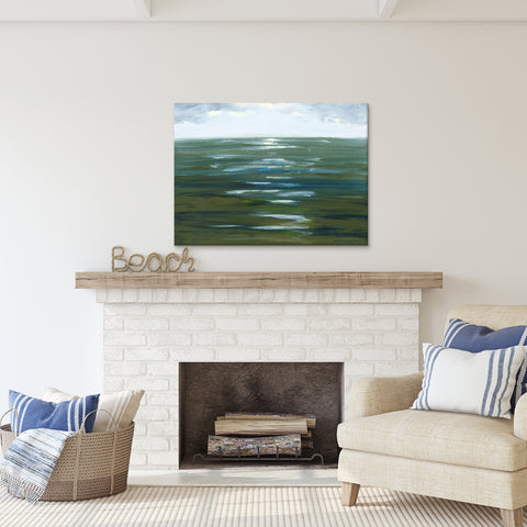 'Overcast' Ready2HangArt Canvas by Dana McMillan