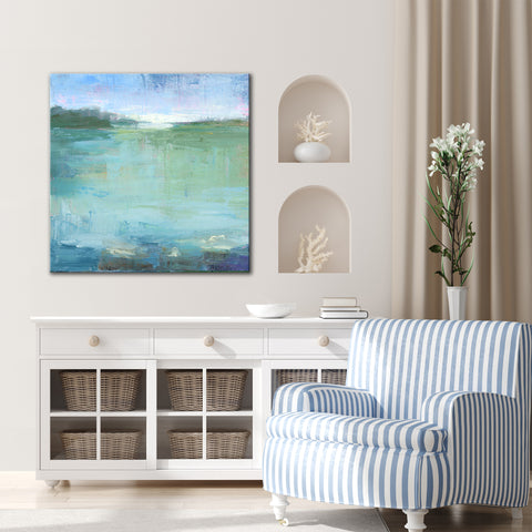 'Watery' Ready2HangArt Canvas by Dana McMillan
