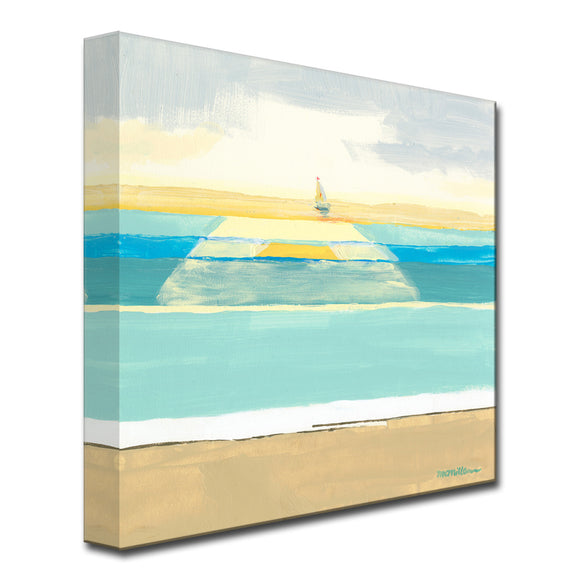 'Day of Sailing' Ready2HangArt Canvas by Dana McMillan