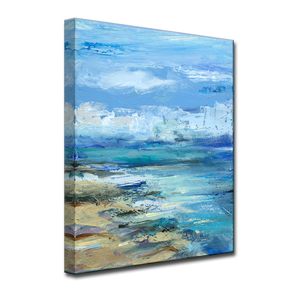 'Coastal Shores' Ready2HangArt Canvas by Dana McMillan