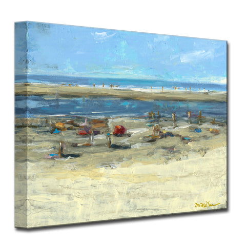 'Day at the Shore' Ready2HangArt Canvas by Dana McMillan