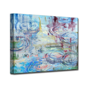'Raindrops' Ready2HangArt Canvas by Dana McMillan