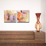 Ready2HangArt 'Abstract' Canvas Wall Art (Set of 2)