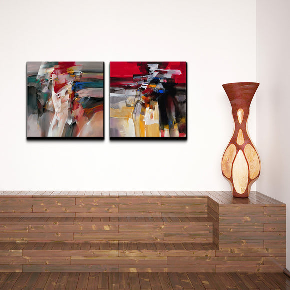 Ready2HangArt 'Abstract' 2-piece Canvas Wall Art