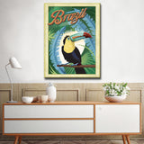 Ready2HangArt Canvas Art 'Tropical - Brazil' by Dorothea Taylor