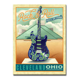 Ready2HangArt Canvas Art 'Rock & Roll- Cleveland' by Dorothea Taylor