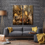 Ready2HangArt 'Earth Tone Abstract I' 2-PC Canvas Wall Art Set
