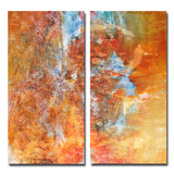 Ready2HangArt 'Earth Tone Abstract XII' 2-PC Canvas Wall Art