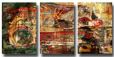 Ready2HangArt 'Earth Tone Abstract II' 3-PC Canvas Wall Art