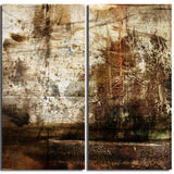 Ready2HangArt 'Earth Tone Abstract VII' 2-PC Canvas Wall Art