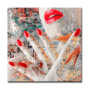 'Urban Fashion III' Canvas Art by Ready2HangArt