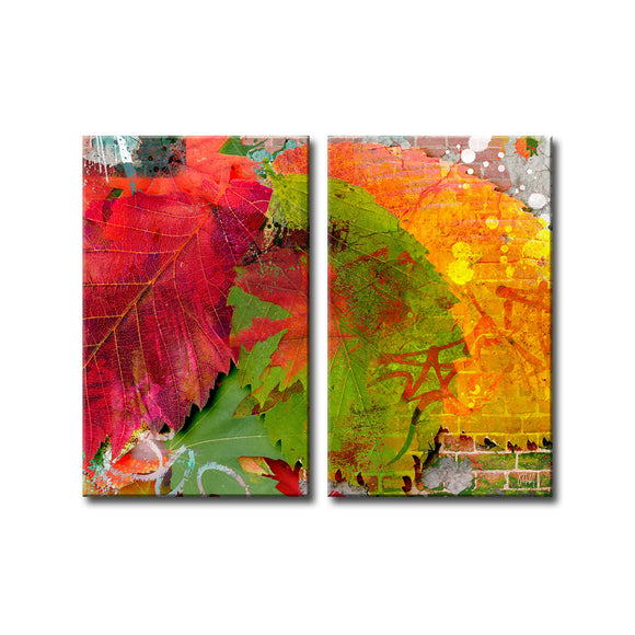 Ready2HangArt 'Fall Ink VI' Canvas Wall Art
