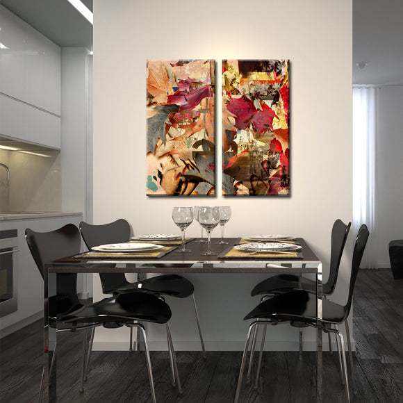 Ready2HangArt 'Fall Ink VIII' Canvas Wall Art