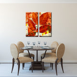 Ready2HangArt 'Fall Ink XIII' Canvas Wall Art