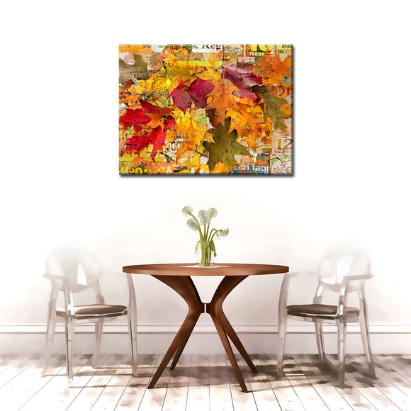 Ready2HangArt 'Fall Ink XVI' Canvas Wall Art