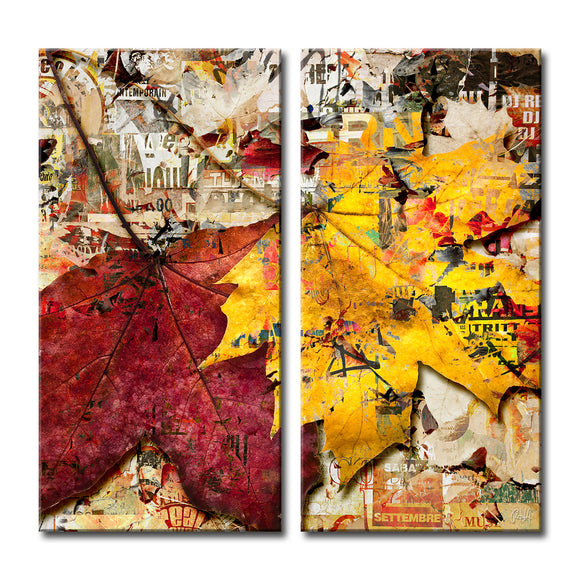 Ready2HangArt 'Fall Ink XVII' Canvas Wall Art