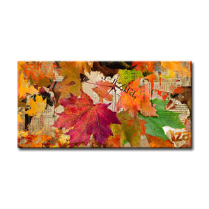 'Fall Ink XX' Wrapped Canvas Wall Art