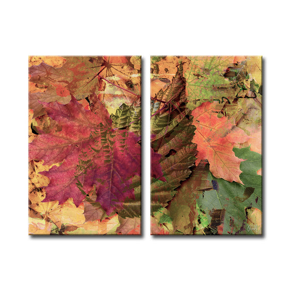 Ready2HangArt 'Fall Ink XXV' Canvas Wall Art