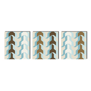 Ready2HangArt 'Geometric Study XX' Canvas Wall Art (3-Pc Set)