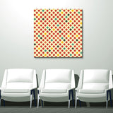 'Geometric Study V' 30x30-inch Canvas Wall Art